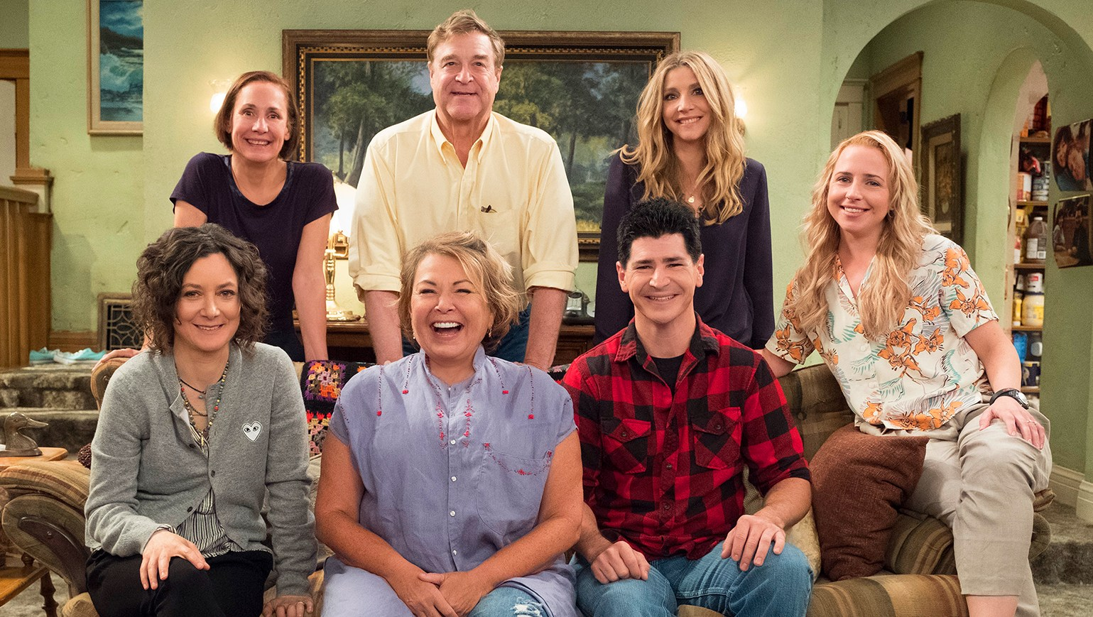 roseanne return cast
