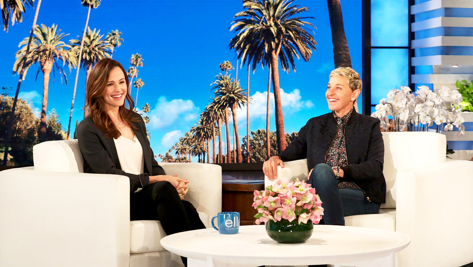Jennifer Garner makes an appearance on 'The Ellen DeGeneres Show'