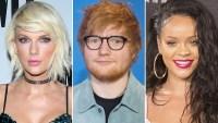 Taylor Swift, Ed Sheeran, Rihanna, iHeartRadio Awards, Winners, Nominees