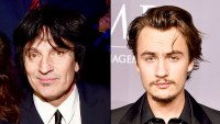 Tommy Lee and son Brandon