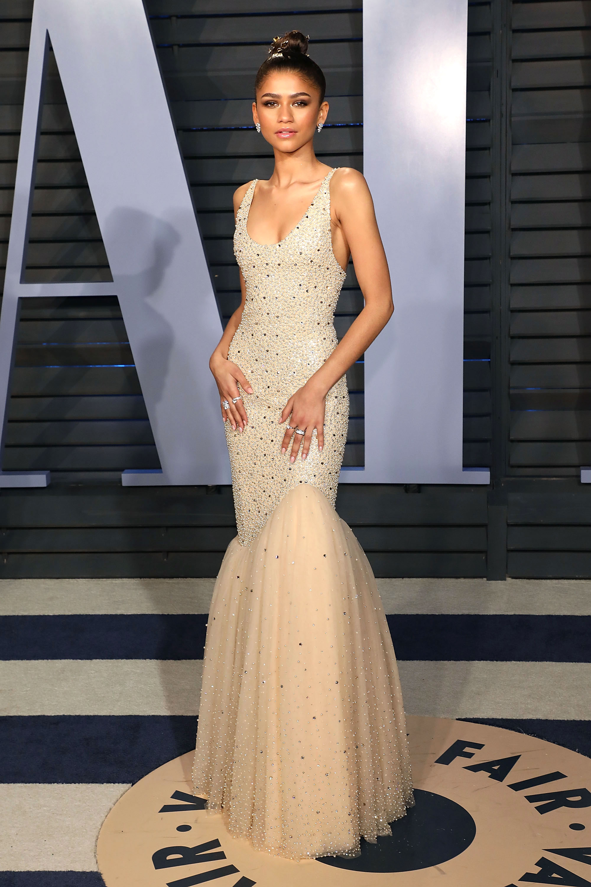 Oscars 2018  Best After Parties Fashion  Dresses  Jewelry Zendaya