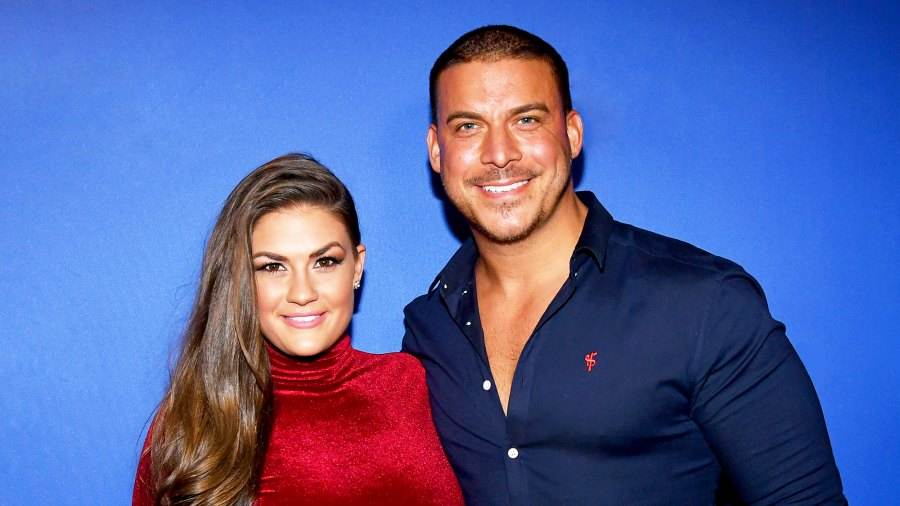 Brittany Cartwright and Jax Taylor attend 2017 Holiday Party with Flo Rida at The Magic Hour in New York City.