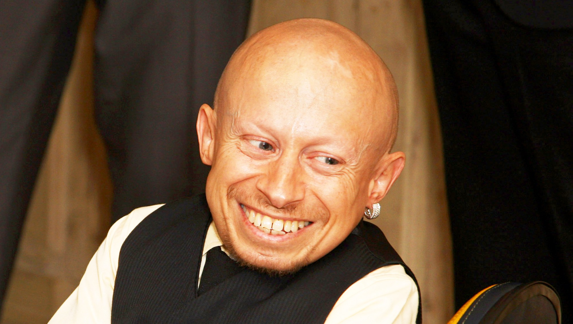 Verne Troyer attends the 2009 UK premiere of The Imaginarium of Doctor Parnassus held at The Soho Hotel in London, England.