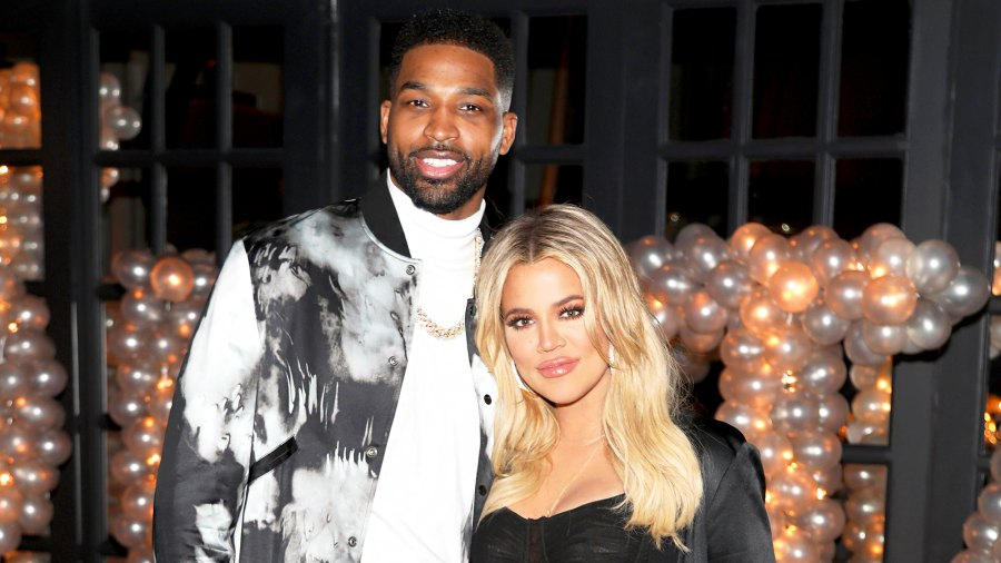 Tristan Thompson and Khloe Kardashian celebrate Tristan Thompson's Birthday at Beauty & Essex on March 10, 2018 in Los Angeles, California.