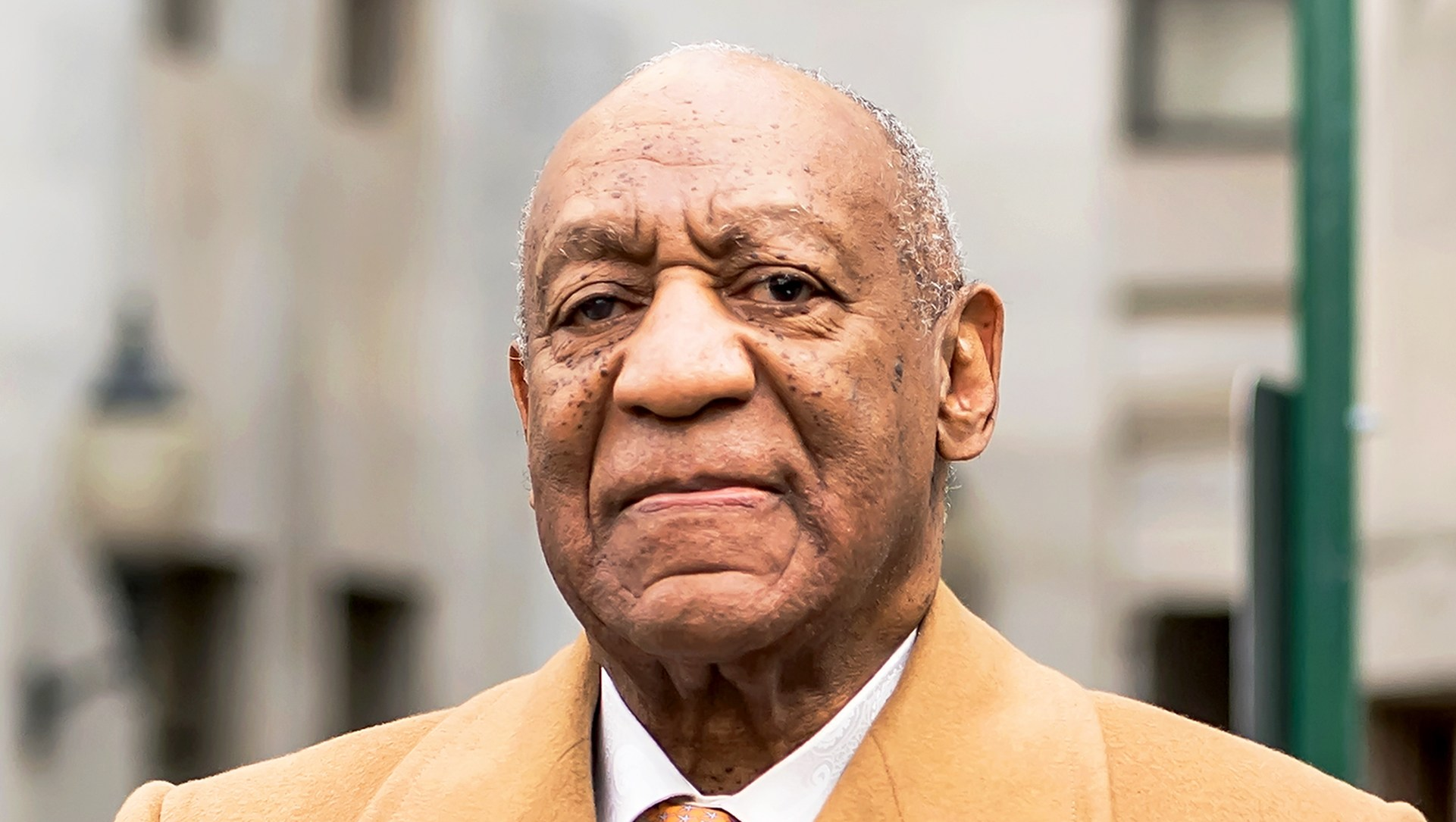 Bill Cosby leaving the Montgomery County Courthouse during the sexual assault charges on April 12, 2018 in Norristown, Pennsylvania.