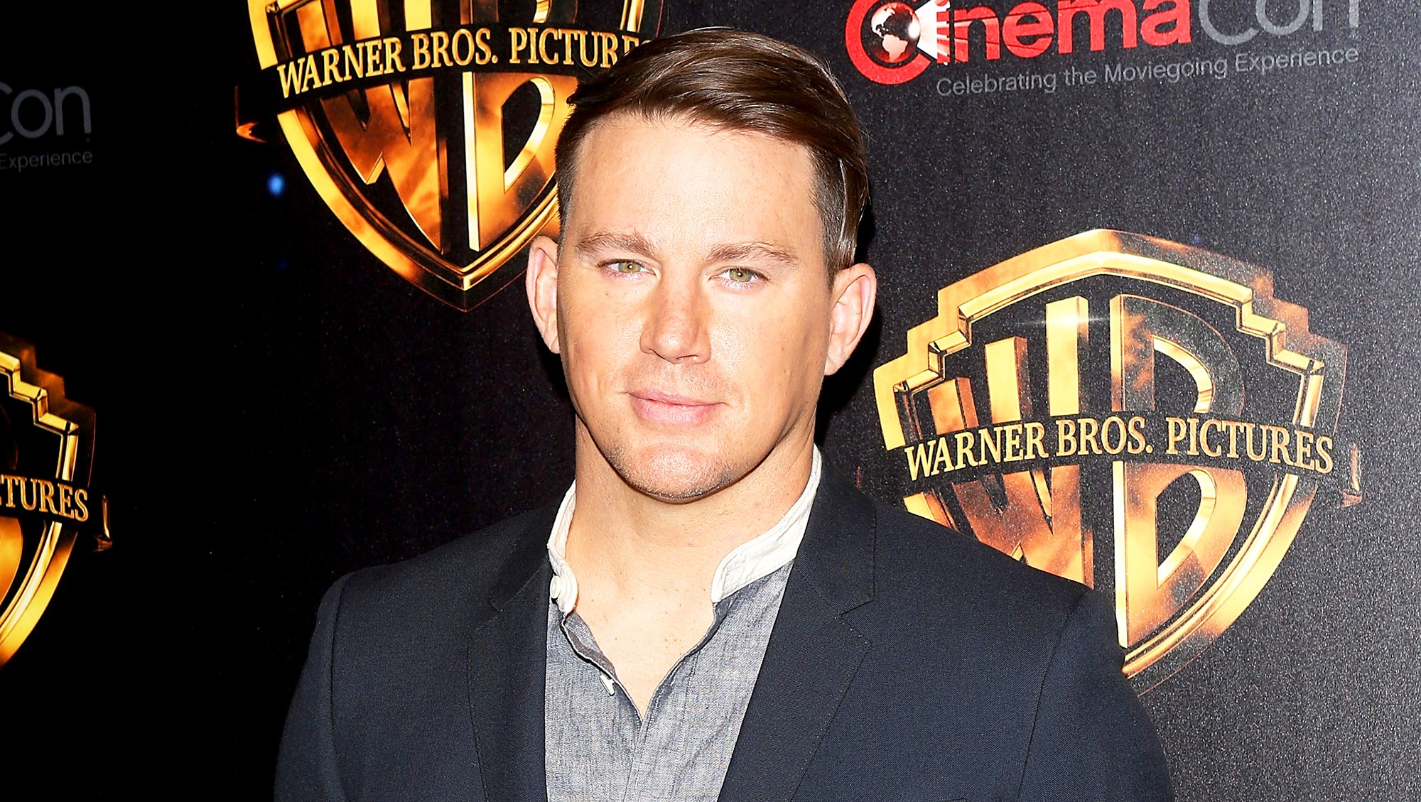 "Channing Tatum attends the 2018 CinemaCon Warner Bros. Pictures ""The Big Picture"" at The Colosseum at Caesars Palace on April 24, 2018 in Las Vegas, Nevada."