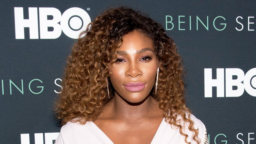 """Serena Williams attends the """"Being Serena"""" New York Premiere at Time Warner Center on April 25, 2018 in New York City."""