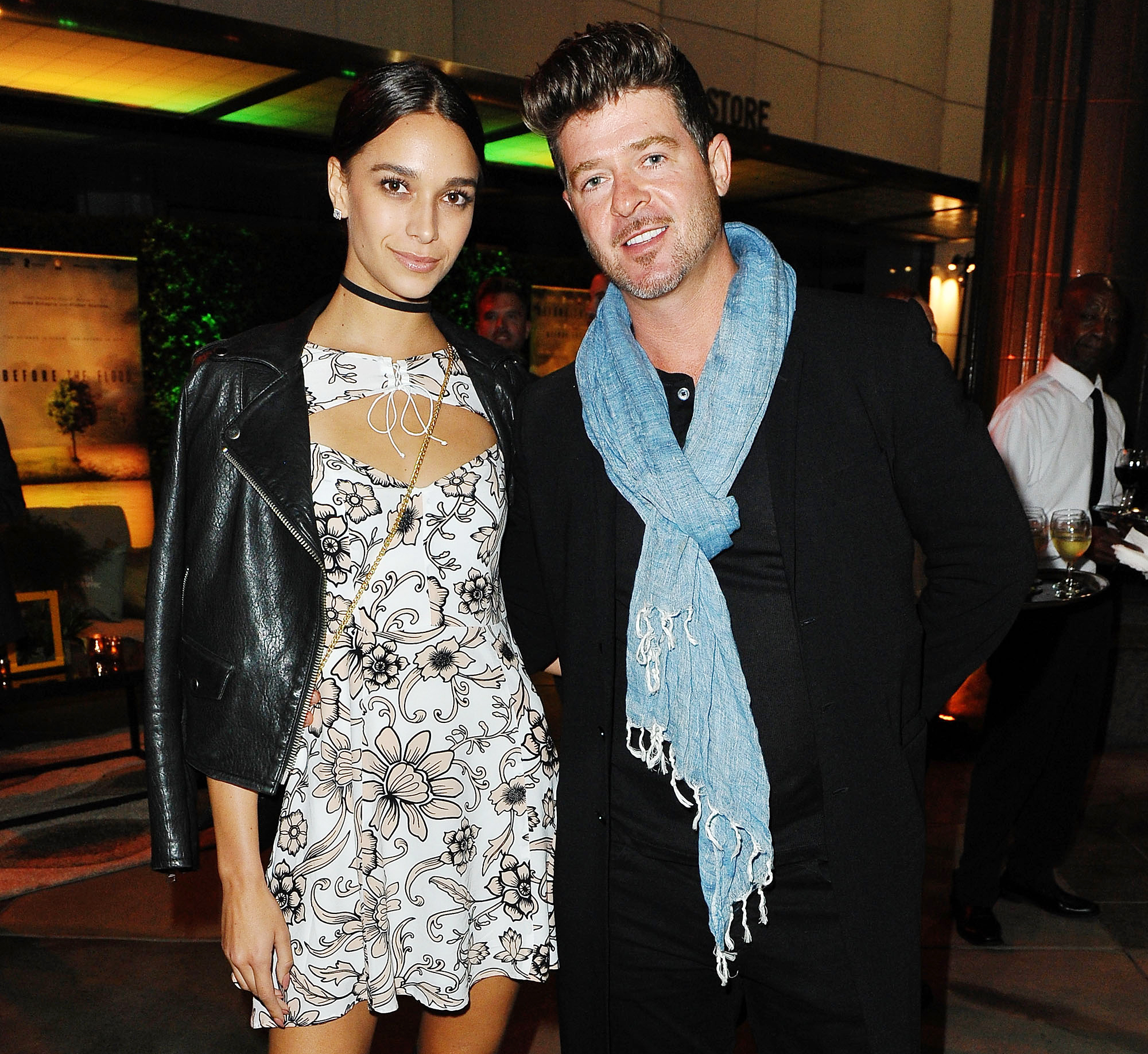 Robin thicke dating scandal
