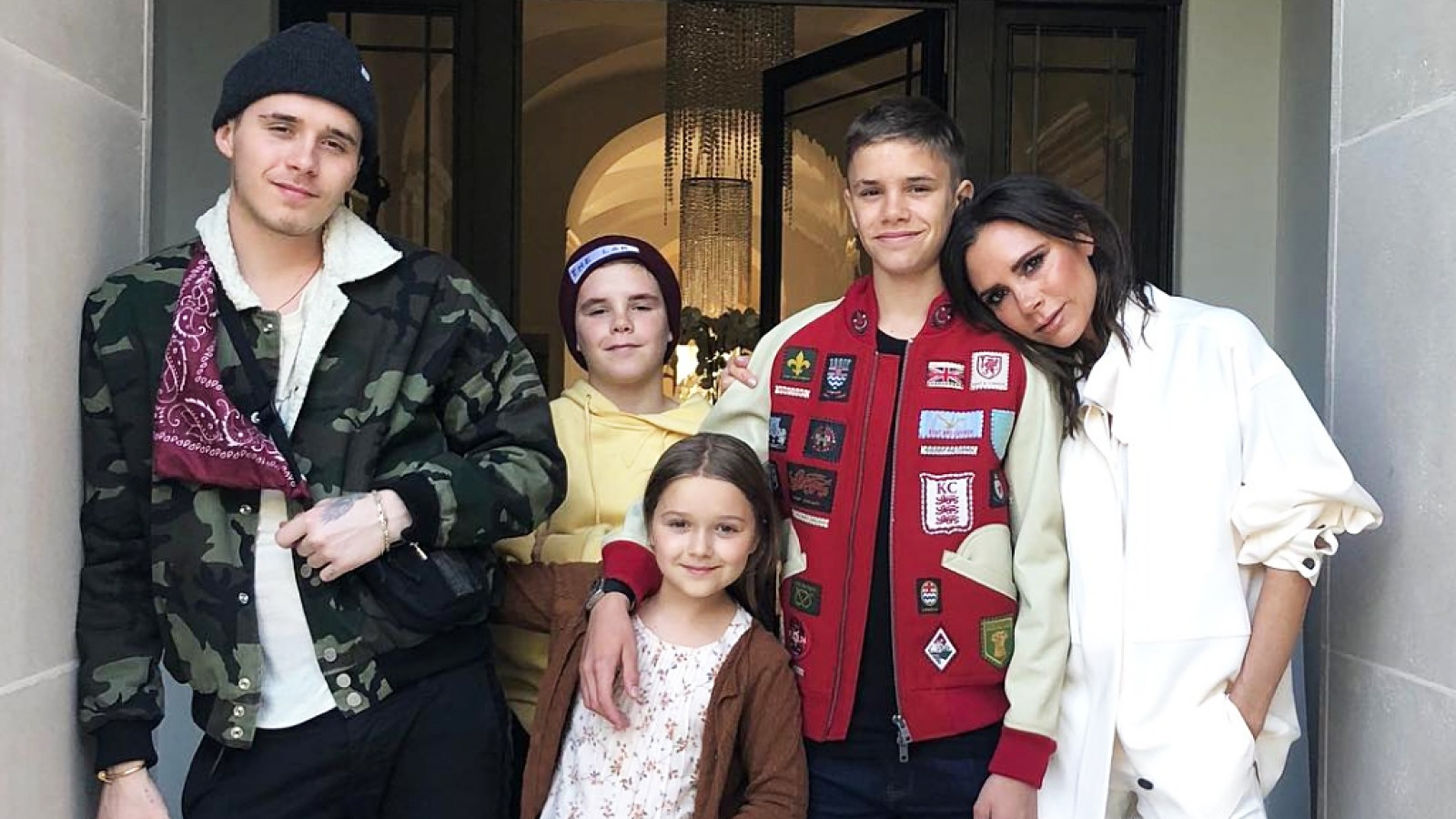Victoria Beckham Celebrates Birthday With Husband David Family Pics