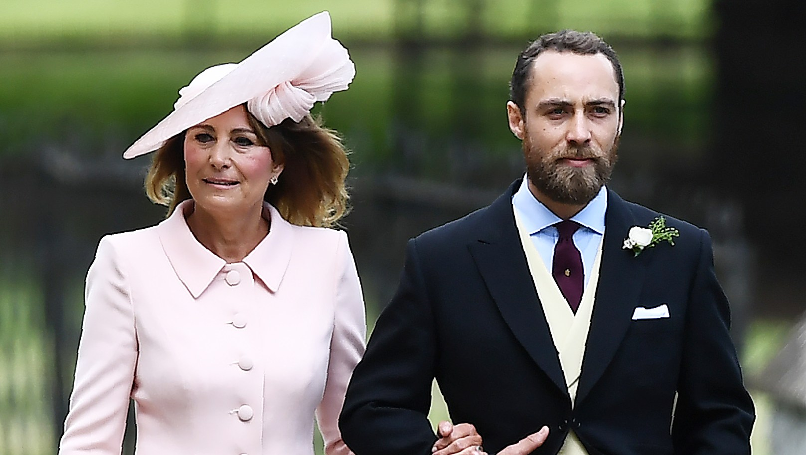 Carole Middleton James Middleton Visit Royal Baby