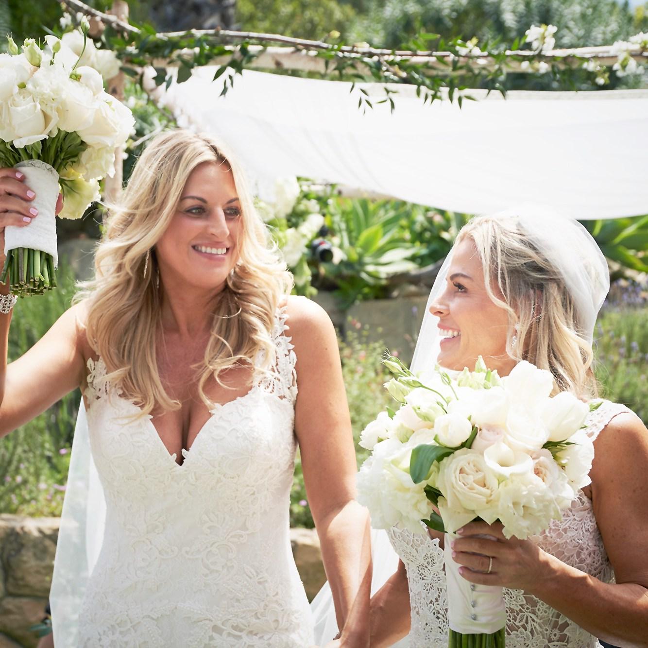 Cat Cora, Nicole Ehrlich, Married, Wedding
