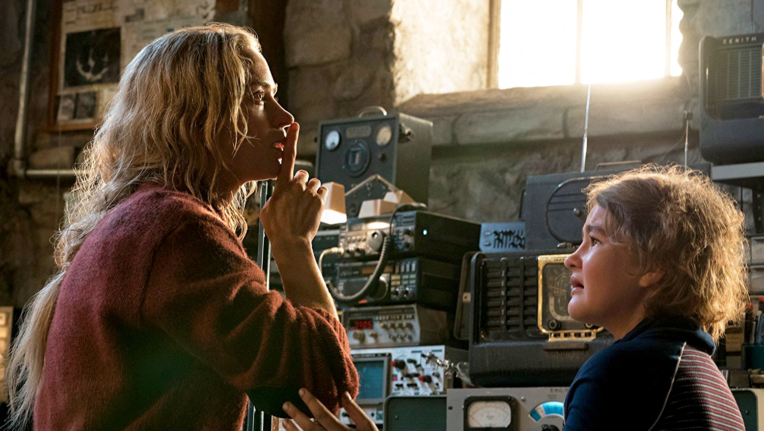 Emily Blunt and Millicent Simmonds 'A Quiet Place'