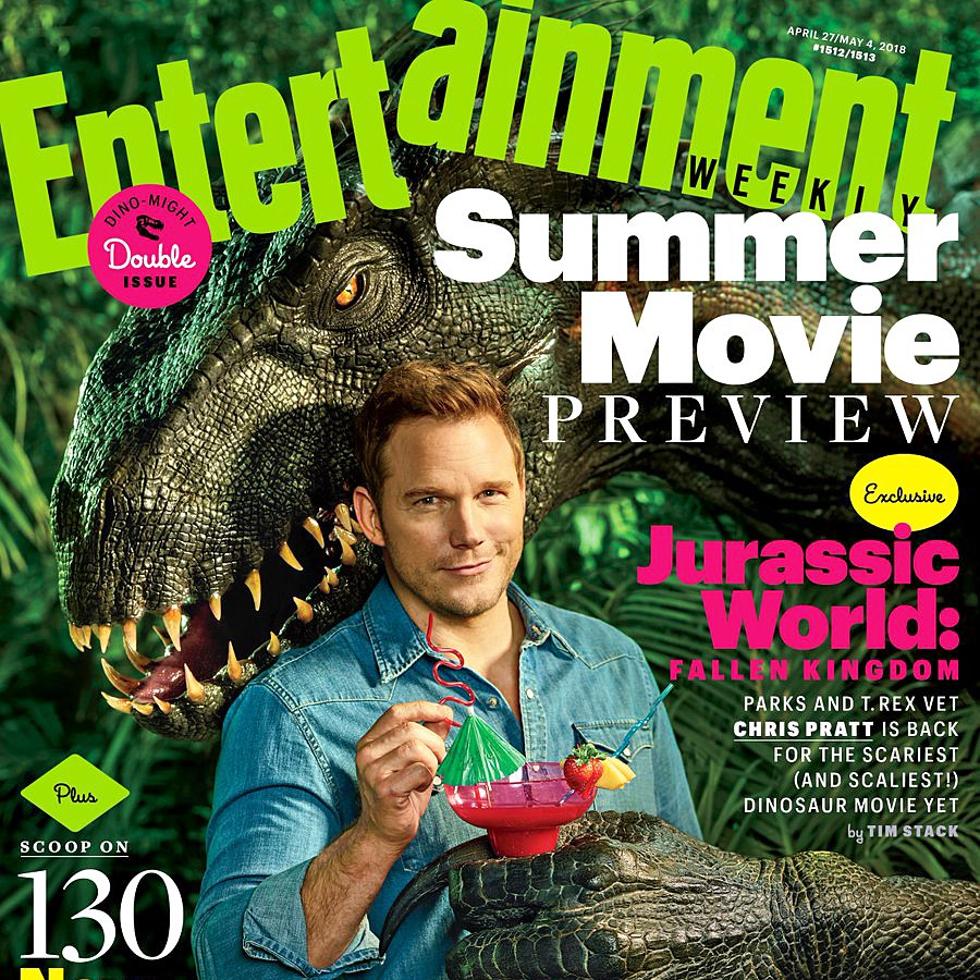 Chris Pratt Entertainment Weekly cover