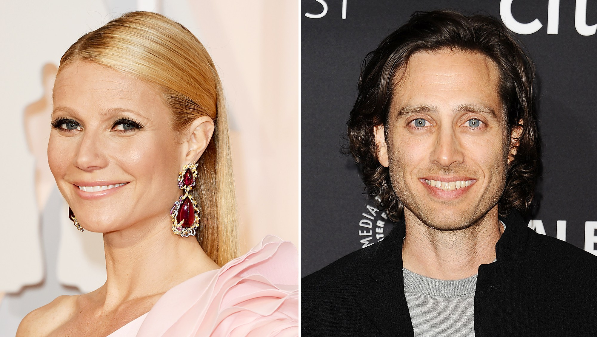 Gwyneth Paltrow Brad Falchuk Engagement Party