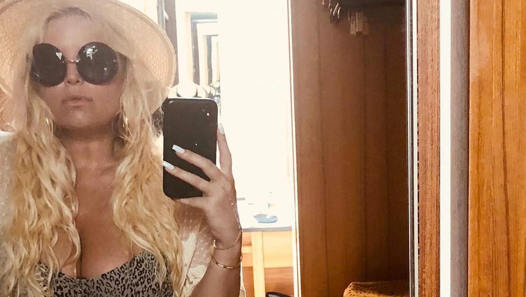 Jessica Simpson, Bikini, Selfie
