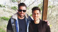 Jordan Rodgers and brother Luke Rodgers
