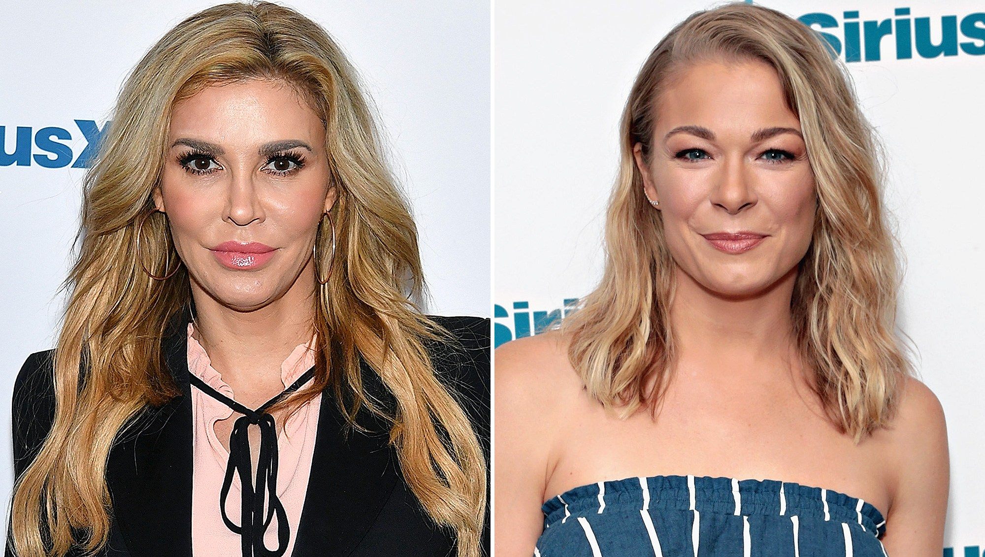 LeAnn Rimes, Brandi Glanville, Pose Together, Eddie Cibrian, Jake, Birthday