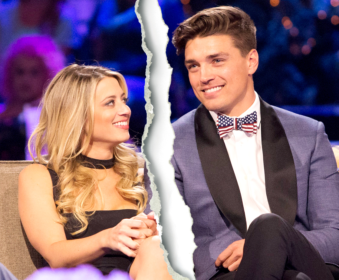 The Bachelor Winter Games' Dean Unglert and Lesley Murphy ...