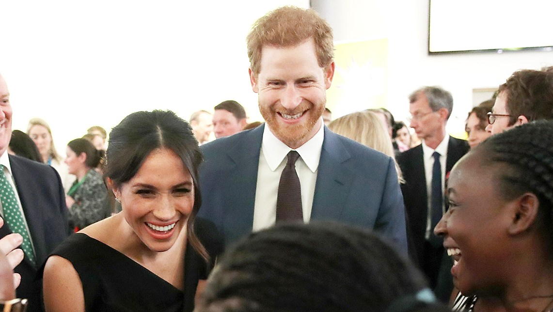 Prince Harry Meghan Markle Women's Empowerment reception