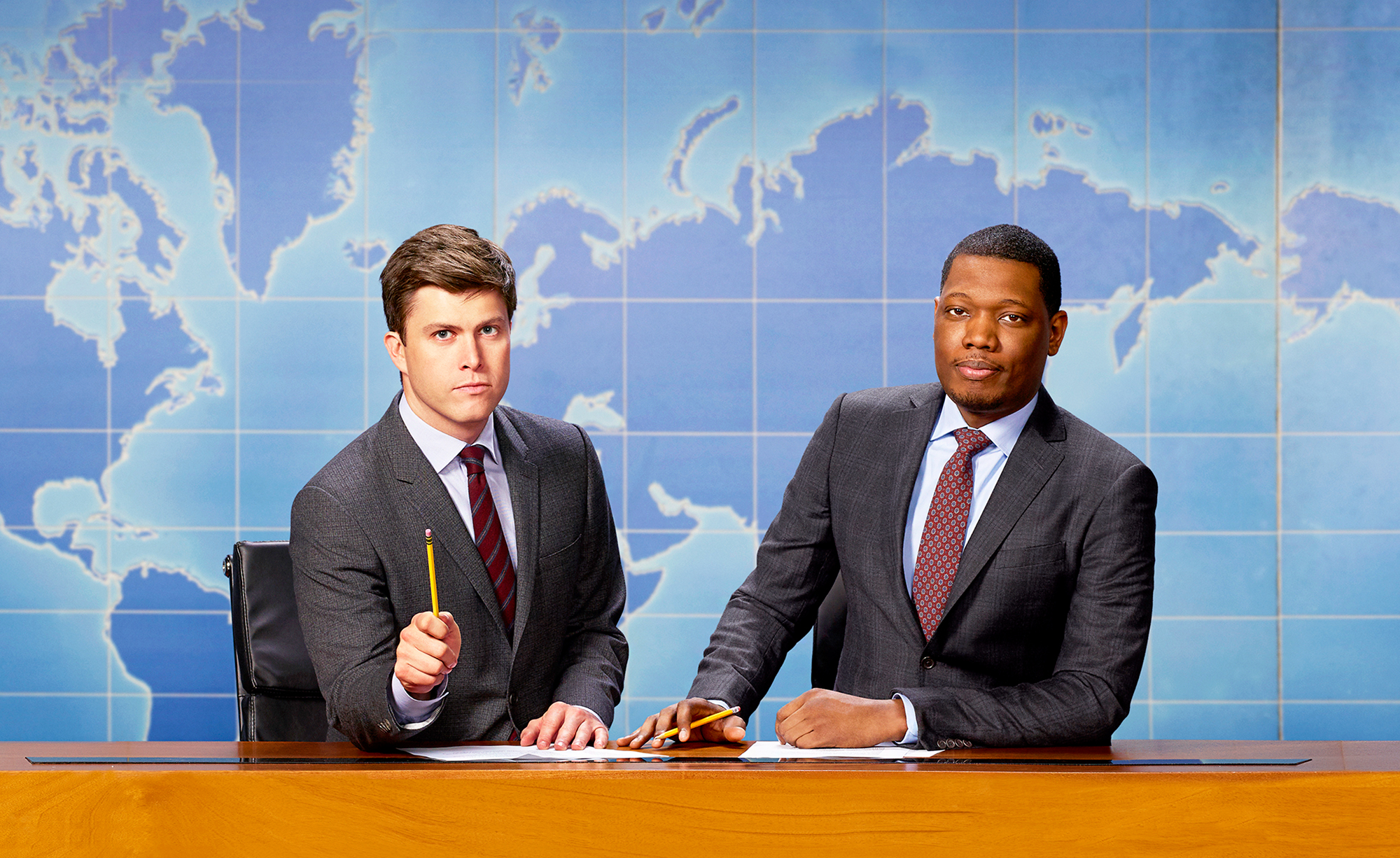 'SNL' Stars Colin Jost and Michael Che to Host 2018 Emmys