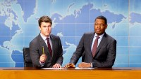 SNL's 'Weekend Update' Anchors Colin Jost and Michael Che