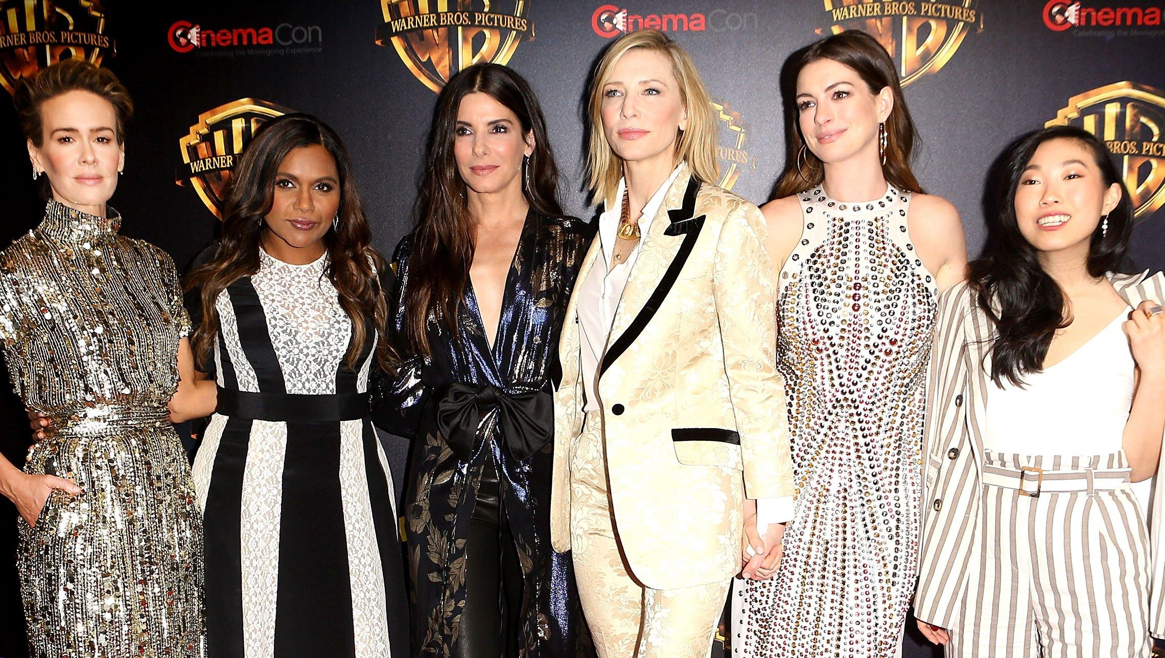 Sarah Paulson, Mindy Kaling, Sandra Bullock, Cate Blanchett, Anne Hathaway