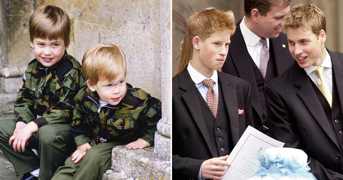 08c16f75f Prince William and Prince Harry's Cutest Moments