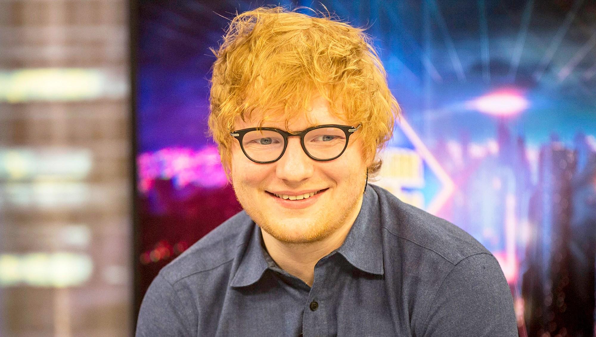 Ed Sheeran visits Madrid Talk Show 'El Hormiguero'