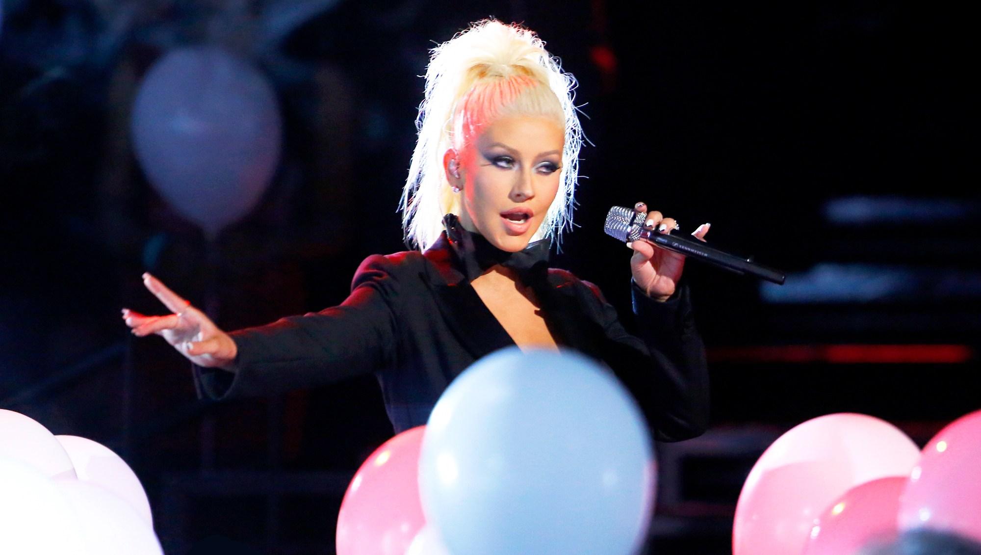 Christina Aguilera on 'The Voice'