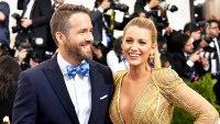 "Ryan Reynolds and Blake Lively attend the ""Rei Kawakubo/Comme des Garcons: Art Of The In-Between"" Costume Institute Gala at Metropolitan Museum of Art on May 1, 2017 in New York City."