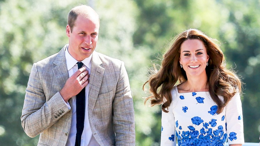 Prince William and Kate Middleton visit Bute Mills during a visit to Luton on August 24, 2016 in Luton, England.