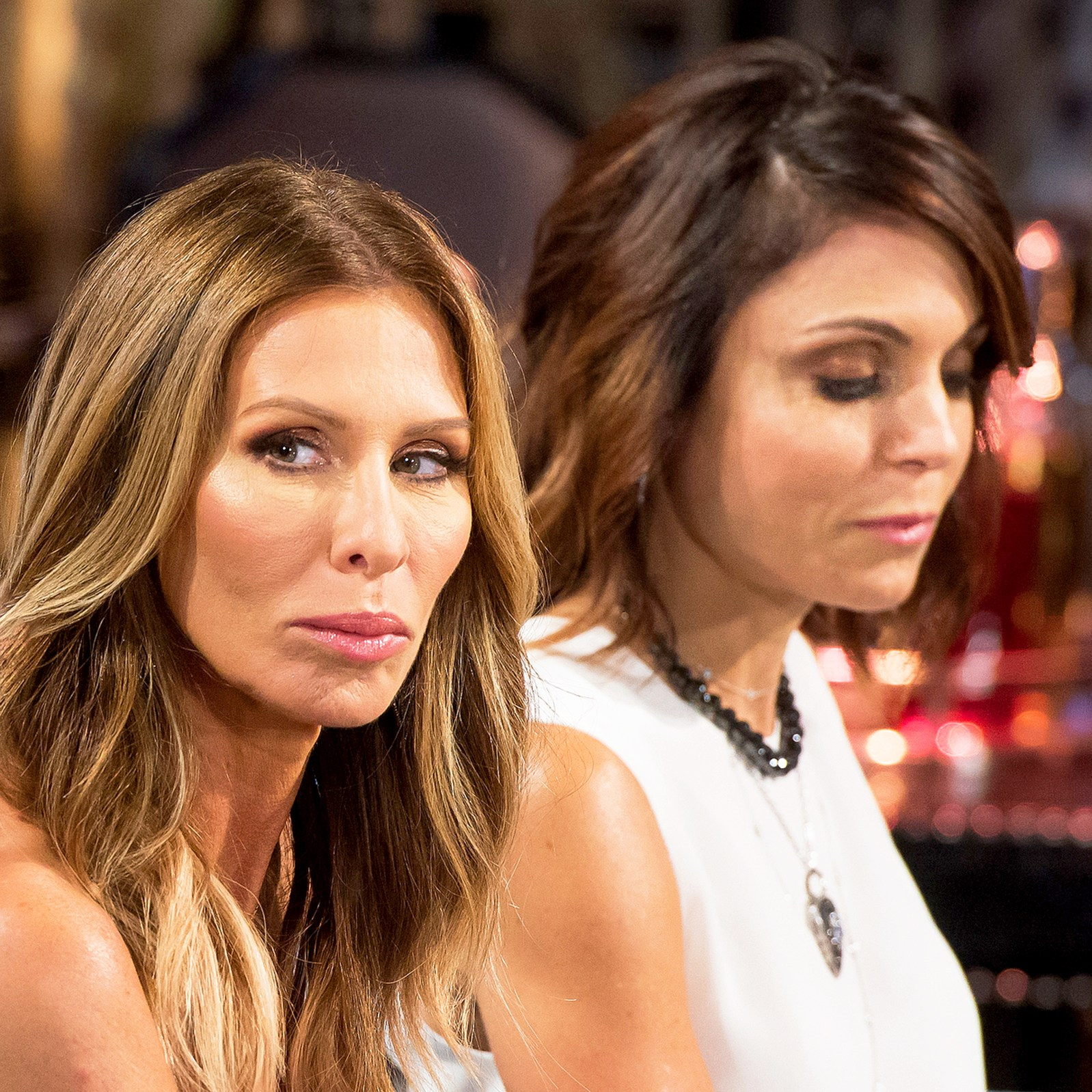 Carole Radziwill and Bethenny Frankel on 'The Real Housewives of New York City' reunion