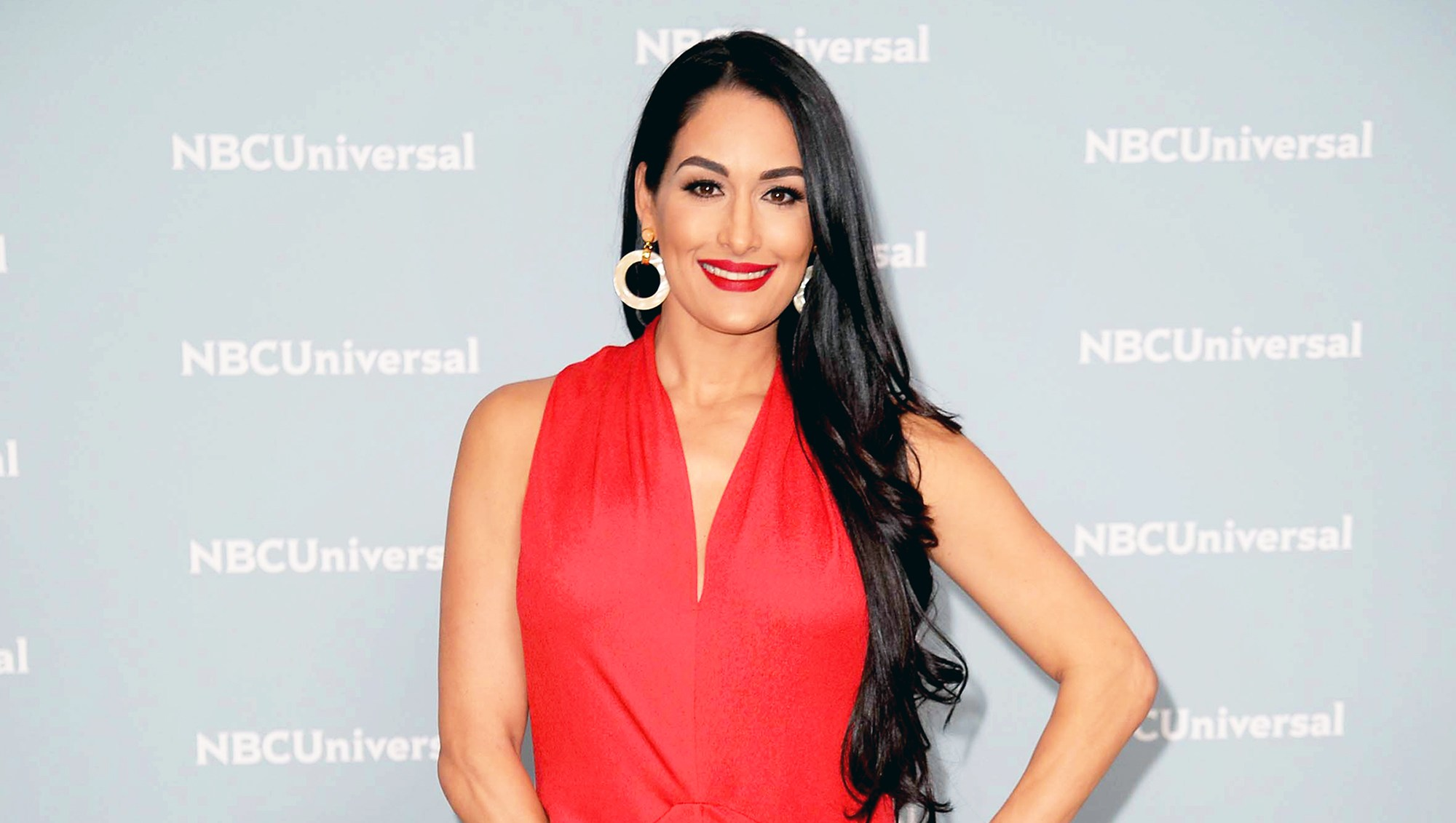 Nikki Bella attends the 2018 NBCUniversal Upfront Presentation at Rockefeller Center on May 14, 2018 in New York City.