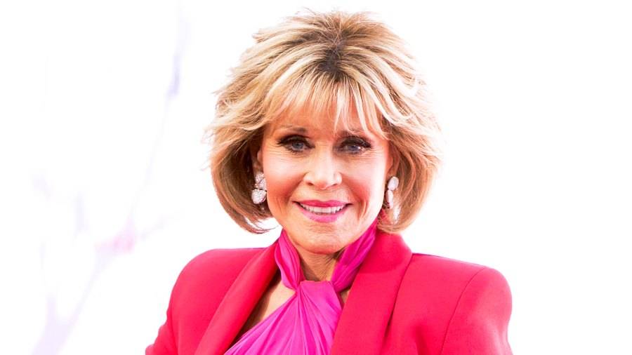 """Jane Fonda arrives for premiere of """"Book Club"""" at Regency Village Theatre on May 6, 2018 in Westwood, California."""