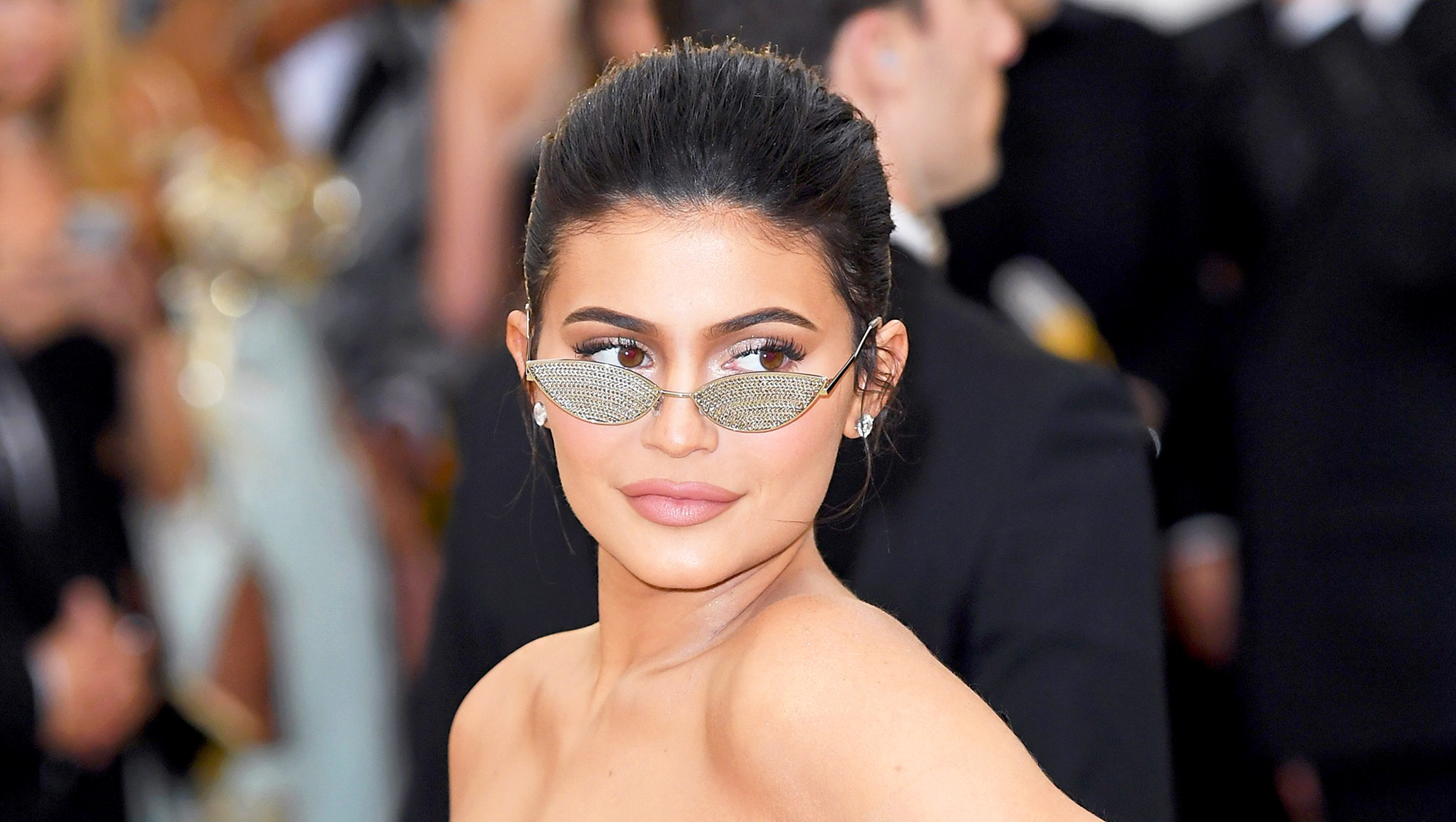 Kylie Jenner attends the Heavenly Bodies: Fashion & The Catholic Imagination Costume Institute Gala at The Metropolitan Museum of Art on May 7, 2018 in New York City.