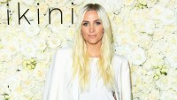 Ashlee Simpson attends the Gigi C Bikinis pop-up launch event at The Park at The Grove in Los Angeles on May 17, 2018.