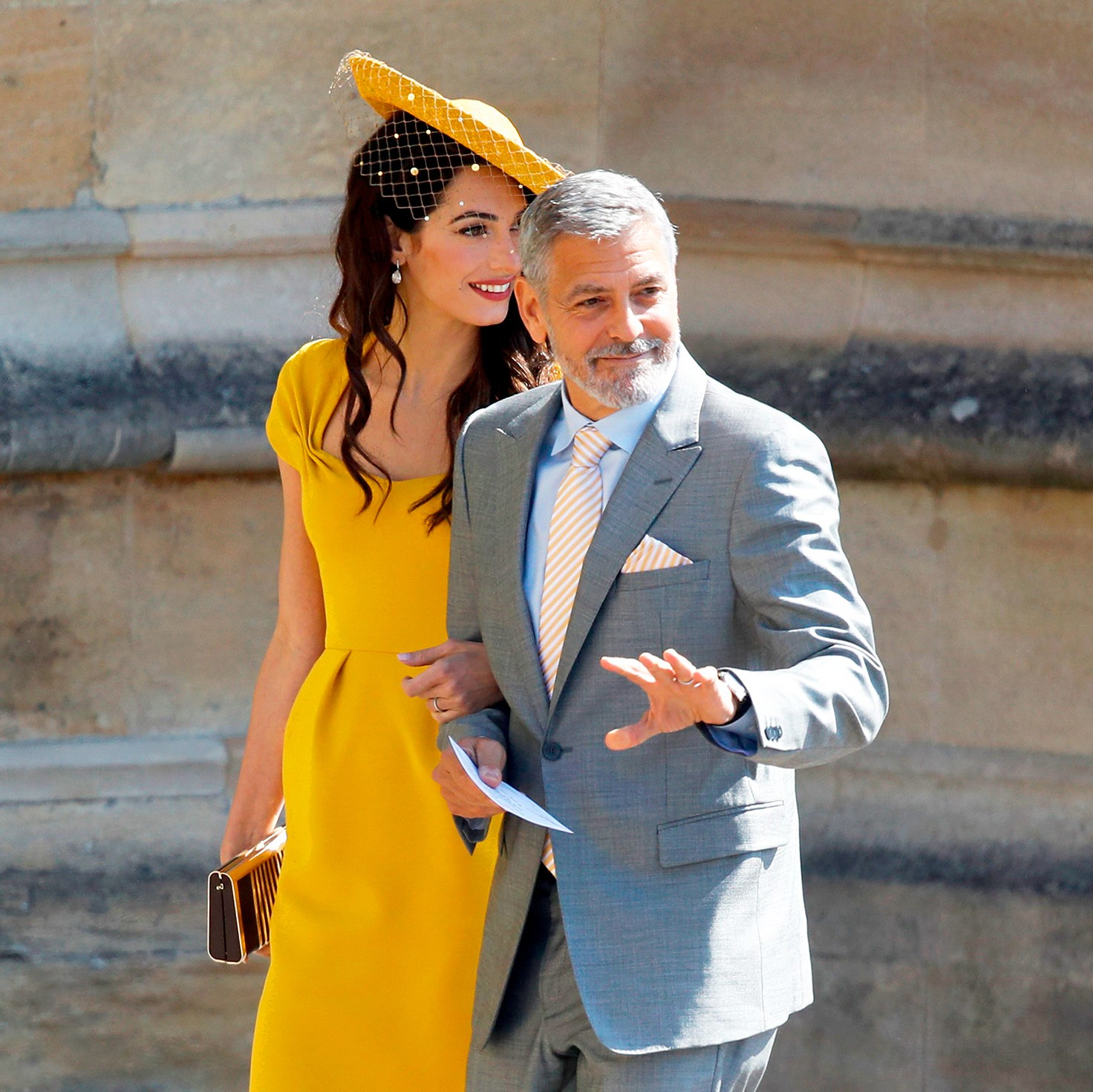 George Clooney and Amal Clooney Royal Wedding Gallery