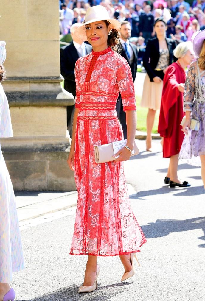 Gina Torres Royal Wedding Gallery