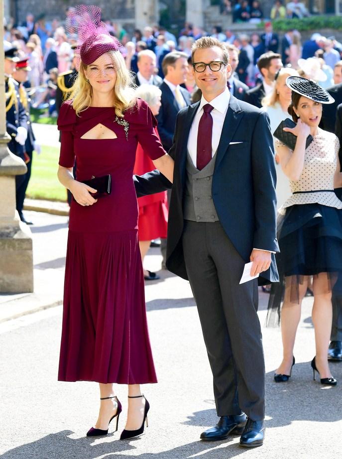 Gabriel Macht and Jacinda Barrett Royal Wedding Gallery