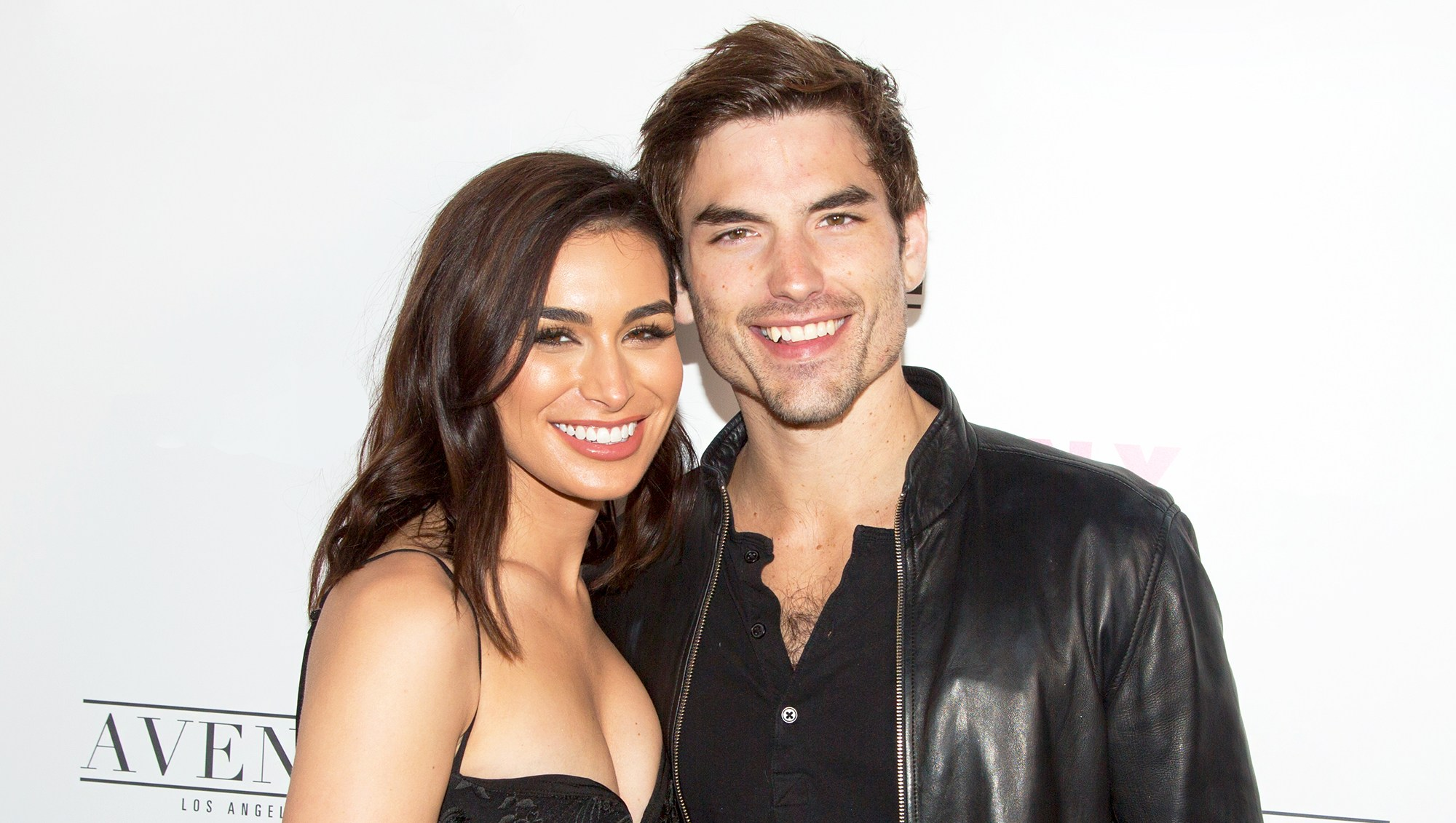 Ashley Iaconetti and Jared Haibon arrive for NYLON Hosts Annual Young Hollywood Party at Avenue on May 22, 2018 in Los Angeles, California.
