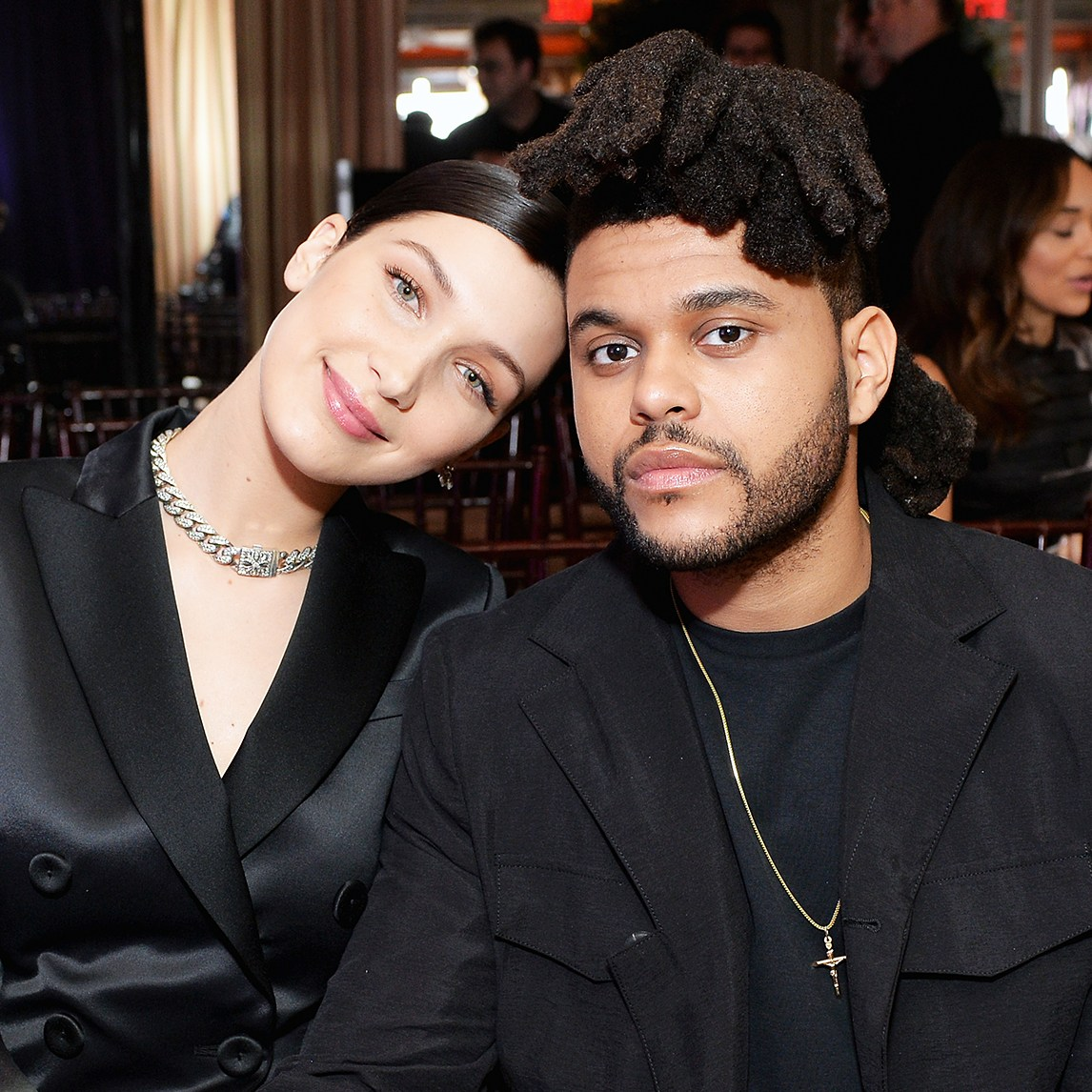 Bella Hadid The Weeknd Cannes Making Out