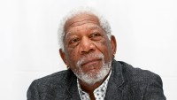 Morgan Freeman attends the 'Going in Style' 2017 Press Conference at the Whitby Hotel in New York City.