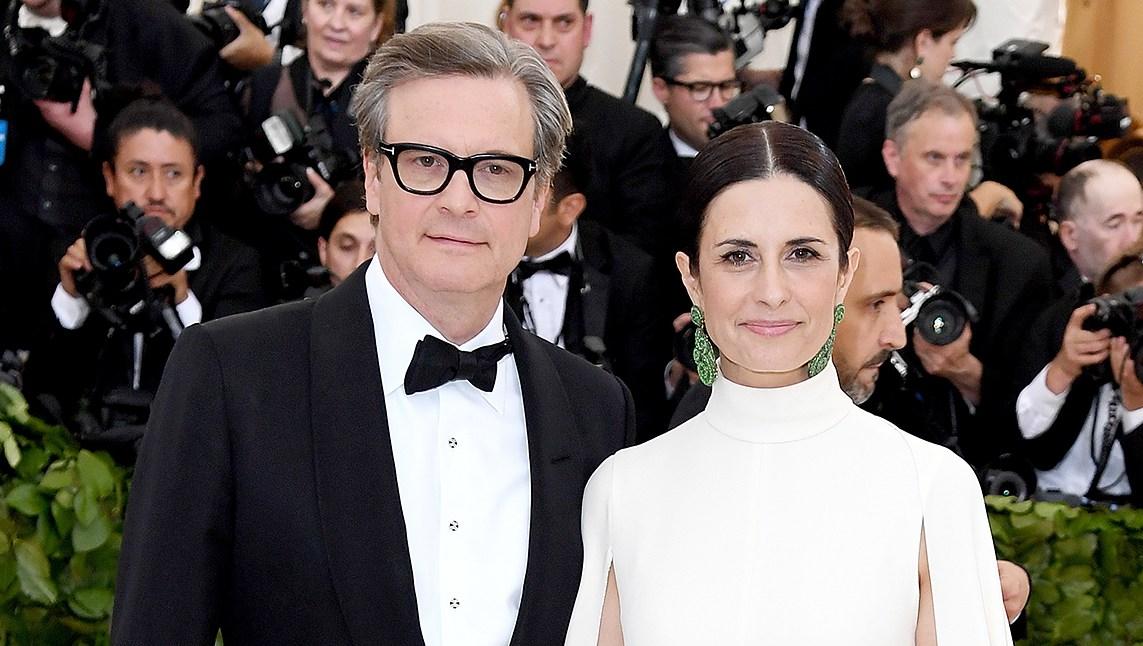 Colin Firth Livia Giuggioli Met Gala 2018