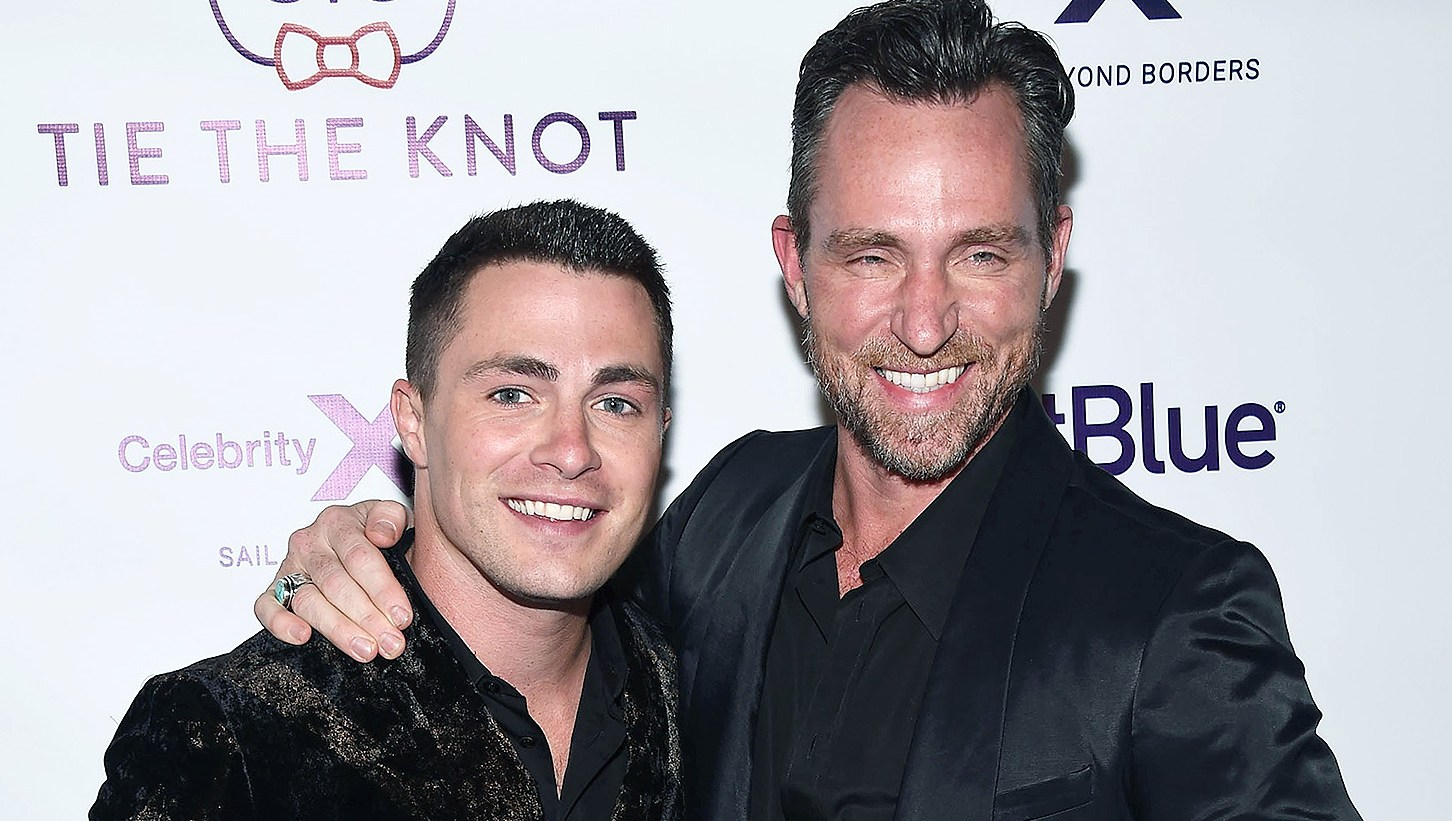 Colton Haynes, Jeff Leatham, Split, Cheating Rumors