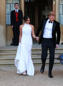 Duchess of Sussex and Prince Harry, Duke of Sussex leave Windsor Castle after their wedding