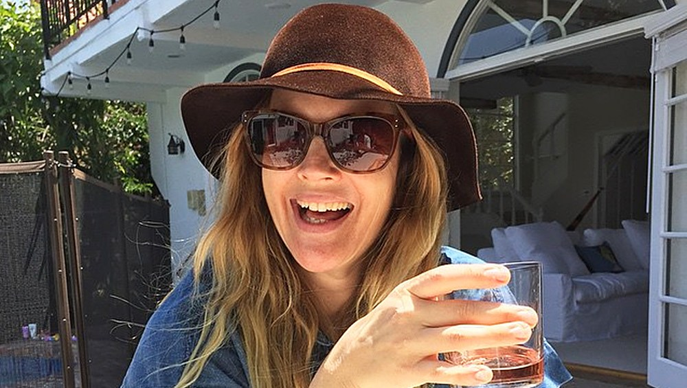 National Rosé Day Drew Barrymore