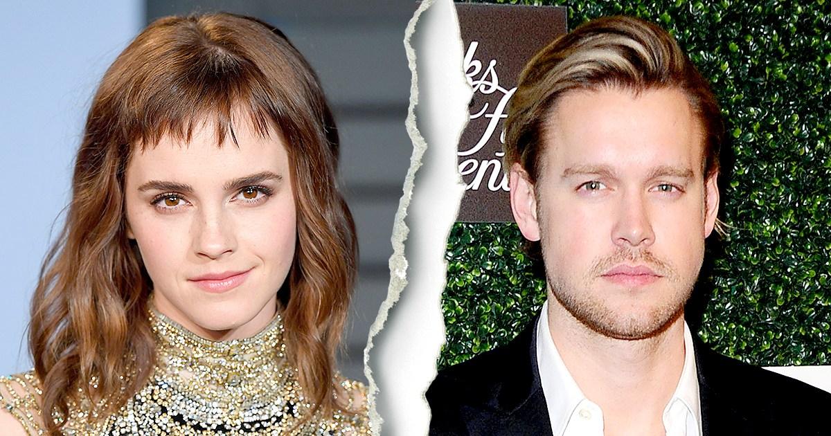 Emma Watson and Chord Overstreet Split