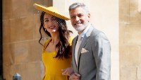 George and Amal at Royal Wedding evening reception Frogmore House George-clooney-amal-tequila-wedding