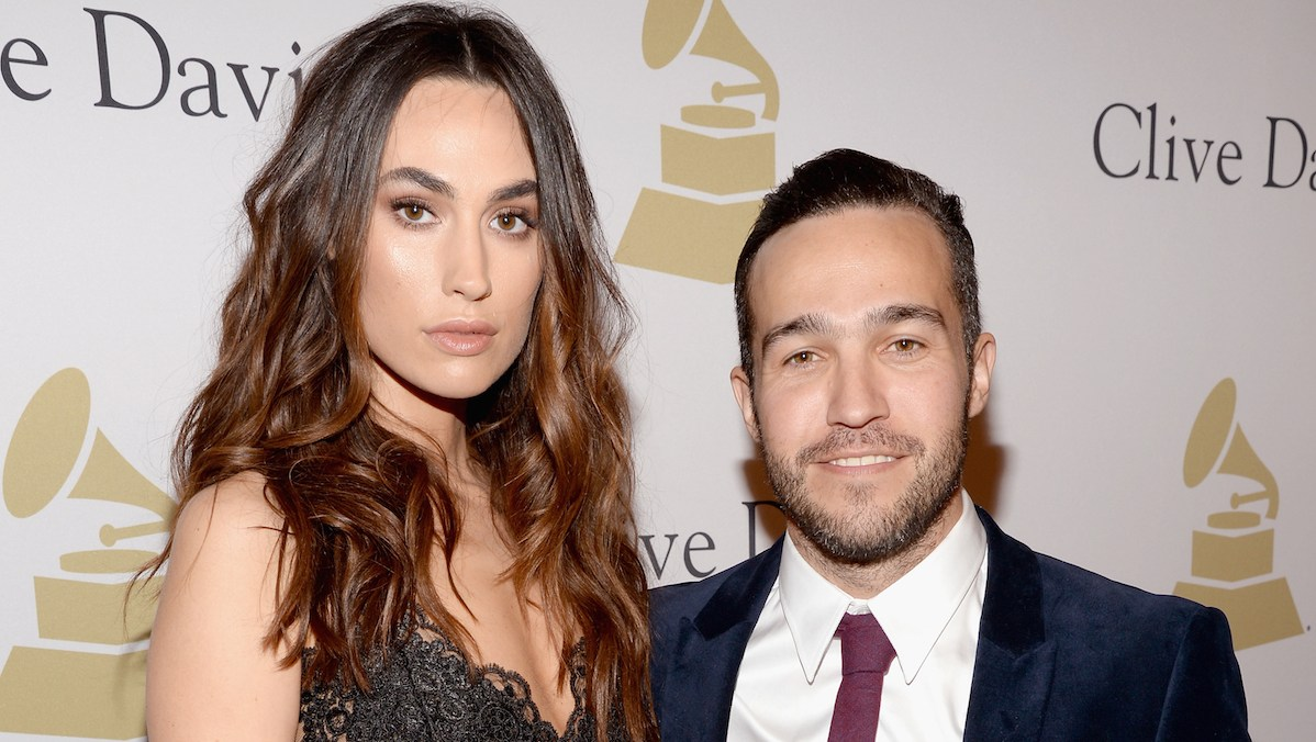 Meagan Camper and Pete Wentz