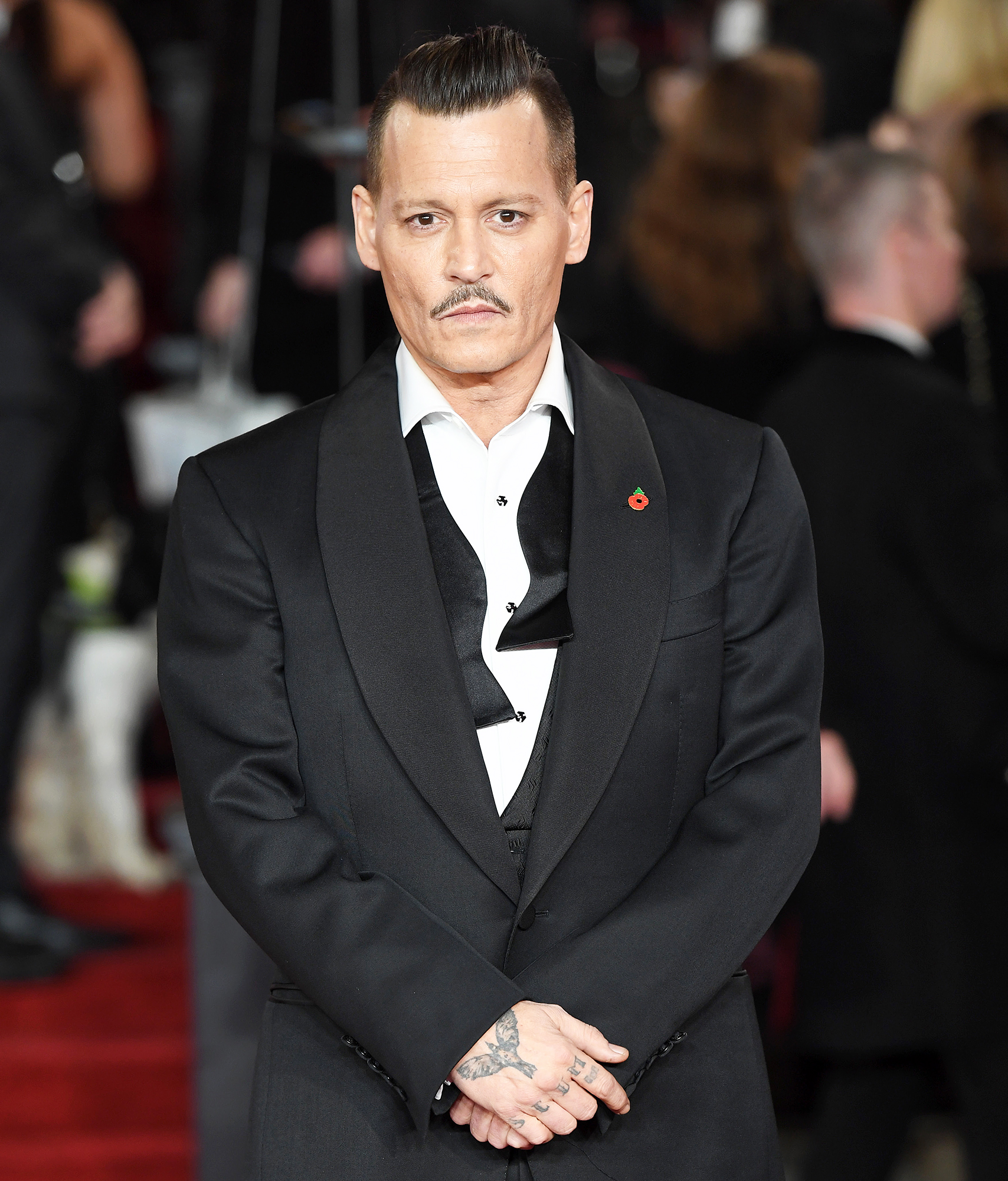 Johnny Depp Accused Of Attacking Crew Member On 'LAbyrinth' Set